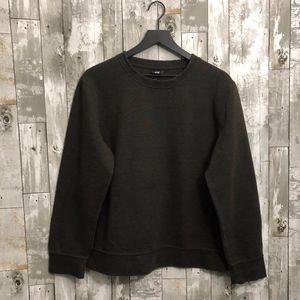 H&M Olive Green Sweatshirt (M)